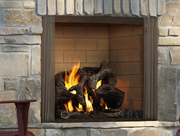 Outdoor Lifestyles Castlewood Wood Fireplace