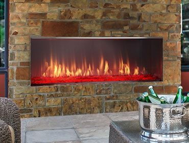 Outdoor Lifestyles Lanai Gas Fireplace
