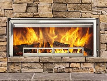 Outdoor Lifestyles Longmire Wood Fireplace