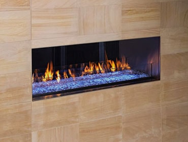 Outdoor Lifestyles Palazzo See-Through Gas Fireplace