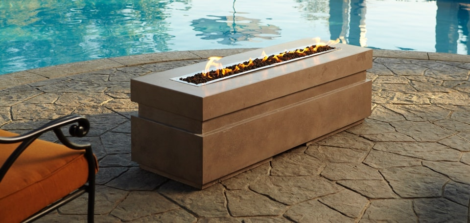 Outdoor Lifestyles Plaza Gas Fire Pit