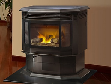 Quadra-Fire Classic Bay 1200 Pellet Stove