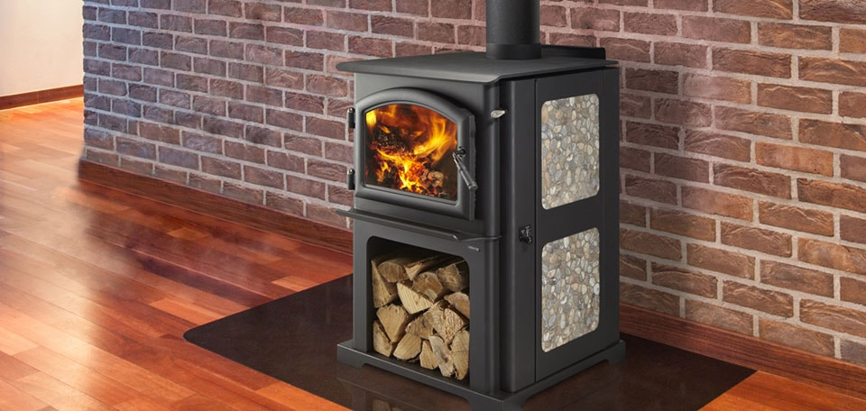The Fireplace Showcase - Wood Burning Stove