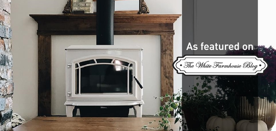 Explorer II Wood Stove as featured on The White Farmhouse Blog