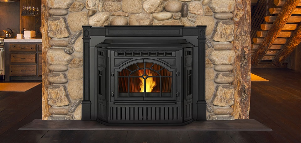 Mt. Vernon E2 Insert shown in matte black with cast surround
