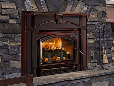 Quadra-Fire Voyageur Grand Wood Insert